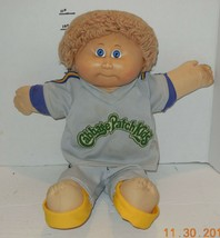 1982 Coleco Cabbage Patch Kids Plush Toy Doll CPK Xavier Roberts OAA Blo... - $24.55