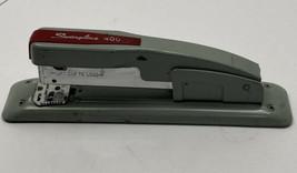 Vintage Swingline 400 Red & Gray Office Stapler (Classic Design) Works - $9.99