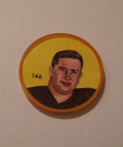 Primary image for Nally's Chips (1963) - CFL Picture Discs - Tom Hinton - #146 of 100 -- Rare