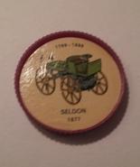 Jello Car Coins -- #4  of 200 - The Seldon - $10.00