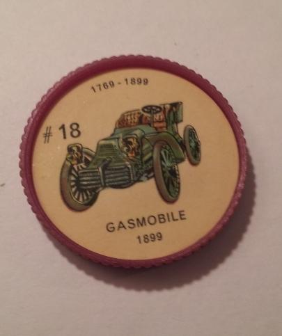 Jello Car Coins -- #18  of 200 - The Gasmobile