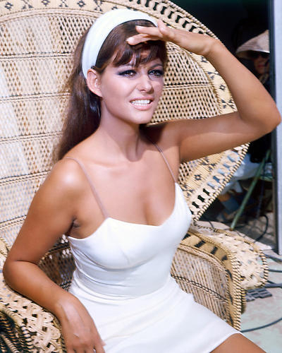 Claudia cardinale poster 24x36 white sundress