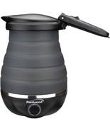 Brentwood Appliances KT-1508BK .85-Quart Dual-Voltage Collapsible Travel... - $39.57