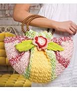 W497 Crochet PATTERN ONLY Citrus Blossom Purse Bag Pattern - $7.50
