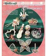 W489 Crochet PATTERN Book ONLY Ornamental Treasures Ornaments Patterns - $13.50