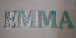 Custom Wood Letters-Nursery Décor- ANY NAME-We can co-ordinate with your... - $12.50