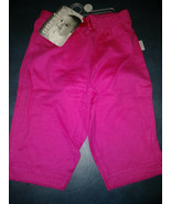 NEW 2 PAIR  Onsies Brand Infant Girls Pants bottoms Pink Knit Size O-3 M... - $2.95