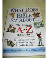 What Does The Bible Say About: The Ultimate A t... - $3.99