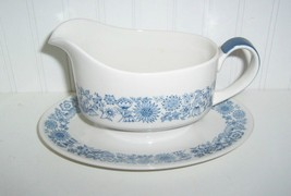 Royal Doulton Cranbourne Gravy Boat w/Attached Undertray/England - $24.74