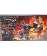 Captain America vs Villians Glossy Print 11 x 1... - $24.99
