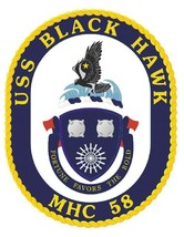 USS Black Hawk Sticker Military Armed Forces Navy Decal M209 - $1.45+
