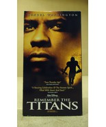Disney Remember the Titans VHS Movie  * Plastic * - $4.69