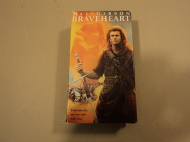 Paramount Braveheart VHS - $8.60