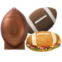 Wilton Football 1st First N 10 Mold 3D Cake Pan Rocket Shark Bread Easte... - $273,52 MXN