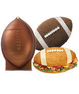 Wilton Football 1st First N 10 Mold 3D Cake Pan Rocket Shark Bread Easte... - £10.69 GBP
