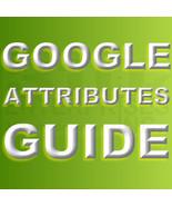 Google Attributes Visual Aid Guide - $0.00
