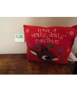 Rudolph the Red Nosed Reindeer Pillow  - $12.99