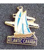 Schooner Atlantic Canada Souvenir Pin Pinback - $8.00