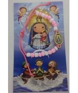 Caridad del Cobre bracelet Pink girl newborn child pulsera para Niñas, - $9.78