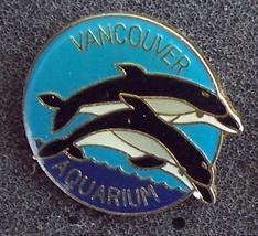 Dolphins Vancouver Aquarium Souvenir Pin Pinback - $8.50