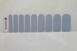 Jamberry Nail Wrap 1/2 Sheet (new) SERENITY STRIPE - $8.60