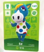 163 - Ed - Series 2 Animal Crossing Villager Amiibo Card - $10.99