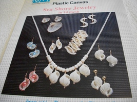 Plastic Canvas Sea Shell Jewelry Patterns - $5.00