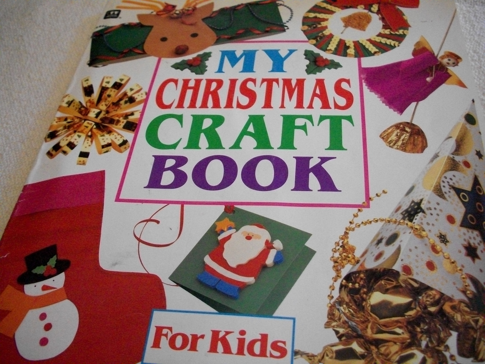 Primary image for Christmas Craft Book For Kids