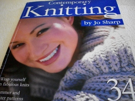Contemporary Knitting Designs Book - $15.00