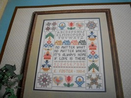 Cross Stitch Sampler Collection Charts by Susan Treglown - $5.00