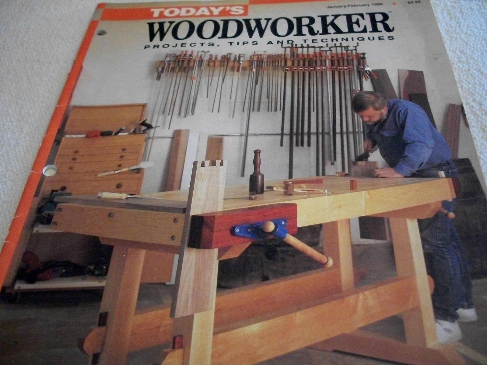Today's Woodworker Magazine: January/February 1990 - $5.00