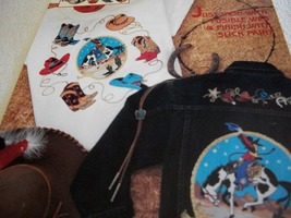Cowboy Fabric Applique - $5.00
