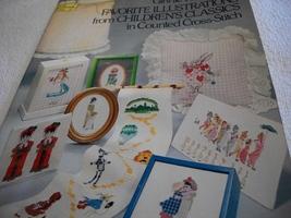 Favorite Illustrations From Children's Classics Cross Stitch Charts - $14.00