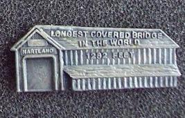 Longest Covered Bridge Souvenir Pin Pinback - $10.00