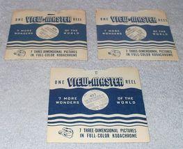 View Master Reel Set Queen Elizabeth Coronation 1953 - £9.21 GBP