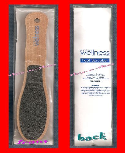 Primary image for Foot Wellness Wooden Foot Scrubber Dble Side Grit File