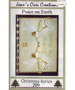 Angels Christmas wallhanging pattern - $3.00