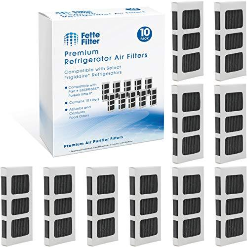 Fette Filter - Activated Carbon Refrigerator Air Filter Compatible with Paultra2
