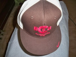 Mens Nike St Christopher Club Baseball Hat Cap Lid Brown Size 8  New $30  - $19.99