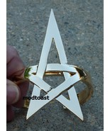 Pentagram Bracelet Star Jewelry Gold Armor Cuff... - $21.99
