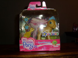My Little Pony G3 MIB Super Long Hair Sparklesnap TRU  - $19.00