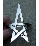 Pentagram Bracelet Star Jewelry Silver Armor Avant Garde Celestial State... - $18.99