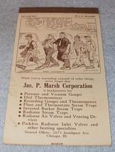 Marsh Advertising Calander Pad March 1946 J.R. Williams Cartoon Cover - $5.95