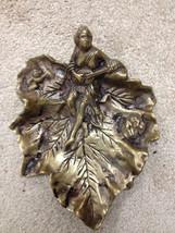 Figural Art Nouveau Tray - The Mandoline Player... - $118.00