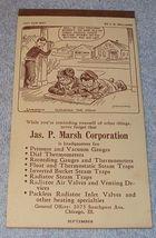 Marsh Advertising Calendar Pad Sept 1945 J.R. Williams Cartoon Cover - $5.95