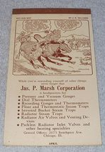 Marsh Advertising Calendar Pad April 1946 J.R. Williams Cartoon Cover - $5.95