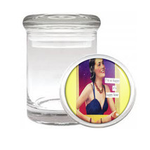 So Happy It's Happy Hour Retro Medical Glass Jar 475 - $14.48