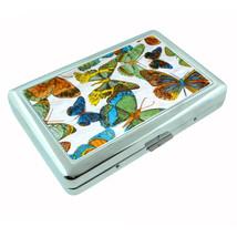 1960s Or 70s Mod Butterflies 1 Silver Cigarette Case 304 - $13.48