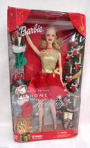 Barbie Home for the Holidays Target Special Edition 2001 Christmas Doll - $21.77