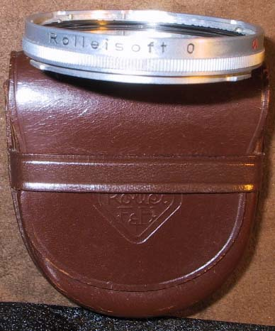 Rolleiflex Bay 3 RolleiSoft #0-38MM-Fits 2.8B, C, D, F & GX w/Case